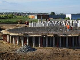 Строительство элеватора вместимостью 150 000 тонн в г. Заинск